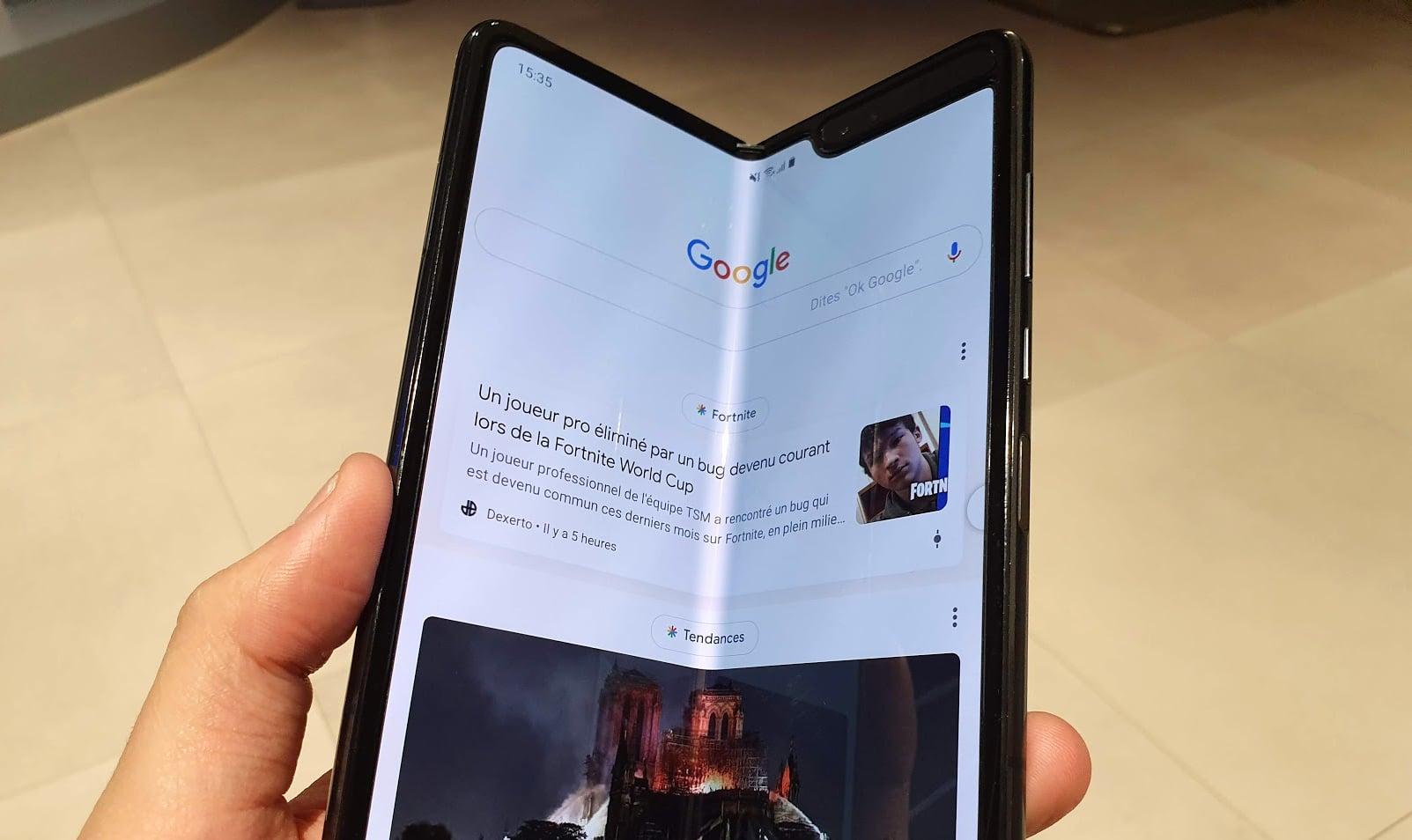 Samsung lancera ce vendredi son smartphone pliable
